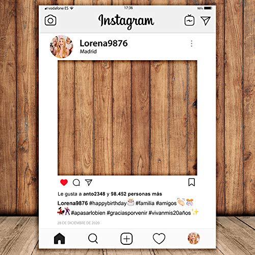 Setecientosgramos Photocall Instagram | 70x100 | Ventana