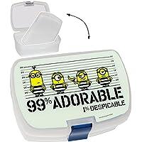 alles-meine.de GmbH Lunchbox / Brotdose - Minions - Ich Einfach unverbesserlich - mit Extra Ei.. preisvergleich bei kinderzimmerdekopreise.eu