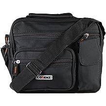 New tamaño grande para hombre Mujer Twin Top bolsa de cremallera trabajo viaje Cruz Cuerpo Bolso de hombro