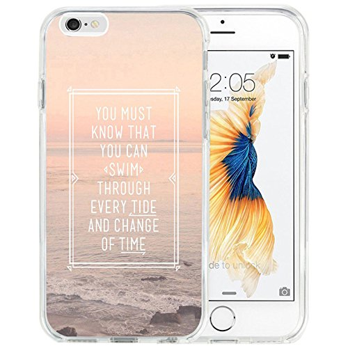 iPhone 6S Plus Fall, dseason iPhone 6/6S Plus (5,5) Fall Einzigartiges Design Zitate Einige Dinge, I6P-QQY (61) (Koreanische Iphone 6 Fall)