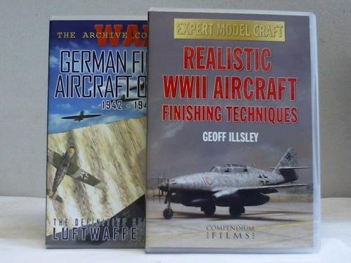 German Fighter Aircraft of WW2. 1942-1945. The definitive series on Germanys tanks & artillery uses in WW2. / Realistic WWII Aircraft finishing Technoques. 2 DVDs