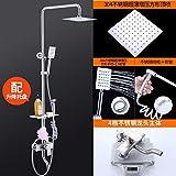 HGTYU-acciaio inossidabile, doccia, un pulsante quattro controlli, le donne lava pistola, doccia, doppio doccia e vassoio
