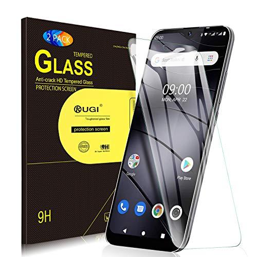 KuGi. pour Verre trempé Gigaset GS110, [Dureté 9H] HD Ultra Transparent Protection écran en Verre trempé pour Gigaset GS110 (Pack de 2)