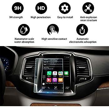 8.7 klare Displayschutz-Folie BROTECT Schutzfolie kompatibel mit Volvo XC40 Sensus 2 St/ück