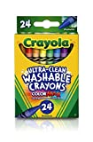 CRAYOLA Washable Crayons, Multi-Colour, 2.61 x 7.11 x 11.53 cm
