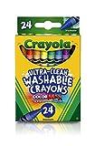 CRAYOLA - Crayones Lavables,, 2,61 x 7,11 x 11,53 cm