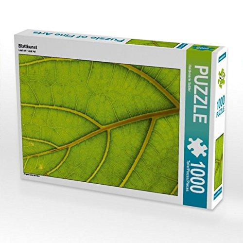 Blattkunst 1000 Teile Puzzle quer - Harmonie Blättern