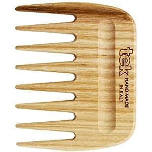 Tek Peigne afro en bois de frêne