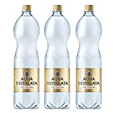 Bottiglie di acqua distillata 4.5 l (3 x 1.5 L) 100% puro Steam acqua distillata/grado medico/food grade/TDS 000 ppm/BPA free