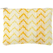 Samuday Craft Women's Cosmetic Pouch (Yellow)