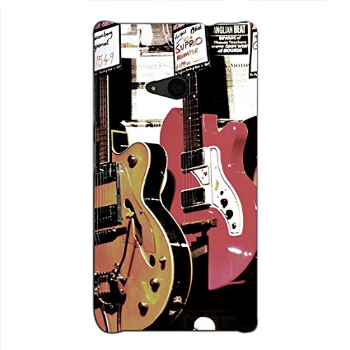 Bluethroat Pair of Vintage Guitars Back Case Cover for Microsoft Lumia 535 :: Microsoft Lumia 535 Dual SIM :: Nokia Lumia 535