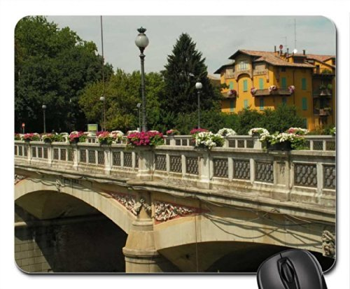 Parma Italy For my friend Cinzia Mouse Pad, Mousepad (Bridges Mouse Pad)