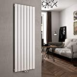 Vertikal Heizkörper Design Paneelheizkörper 1600x540mm Weiß flach Einreihig Mittelanschluss Heizung