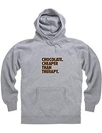 Chocolate - Cheaper Then Therapy Hoodie, Herren