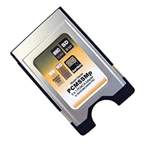 Datafab PCMCIA 5-in-1 Adaptor  (MMC/SD/SM/MS/MS PRO)
