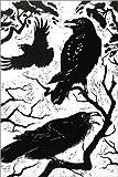 POSTERLOUNGE Forex-Print 80 x 120 cm: Ravens, 1998 by Nat Morley/Bridgeman Images