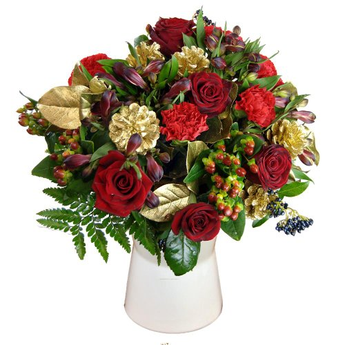 Clare Florist All that Glitters Bouquet of Flowers for Christmas