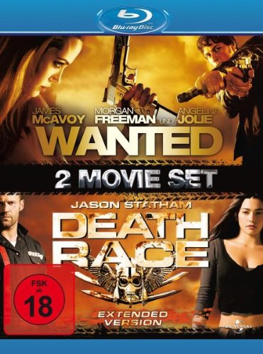 Wanted/Death Race [Blu-ray]