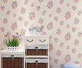 Longless Pastorale, Blumen, Tapeten, Non-woven, Tapeten, Schlafzimmer, Fernseher, Hintergrund, 3d, dreidimensional, dekorative Malerei, 10*0.53M