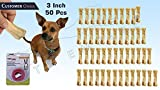 #8: Pets Empire Pressed Dog Bone, (Small 3-Inch ) 3 Inch Bone X 50 Pcs