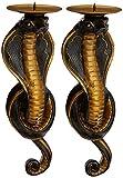 Design Toscano Renenutet, die ägyptische Kobragöttin, Wandleuchter