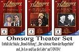Ohnsorg Theater - die 3 neuen Titel (2013) im Set auf 3 DVDs Brandstiftung / Der schönste Mann von der Reeperbahn / In Luv und Lee die Liebe [3 DVDs]