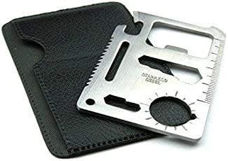 RainSound 11 in 1 Multi Function Credit Card Style Survival Tool Kit