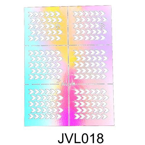 3D Nail Art Sticker Echte Getrocknete Blumen Nagelkunst Aufkleber Maniküre DIY Design Glitter Decoration Accessories Nagelaufkleber Vinyls Schablone Nagel aufkleber Transfer Hohl Tipps Dekoration