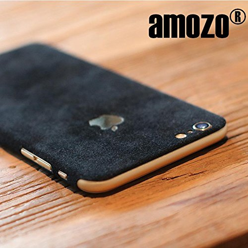 iPhone 6 Cover Skin / iPhone 6S Cover Skin - amozo® Decorative Protective Film Case Cover for Apple iPhone 6 / 6S (Black)