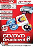 CD/DVD Druckerei 6 mit Papier