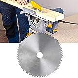 A0127 - Hoja de sierra circular de acero ultrafina de 6 pulgadas, 150 mm de diámetro, 20 mm de diámetro, disco de corte para madera