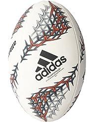 adidas Nzru R Ball Balón de Fútbol Selección de Rugby Nueva Zelanda, Hombre, Blanco (Blanco / Negro / Rojimp), 5