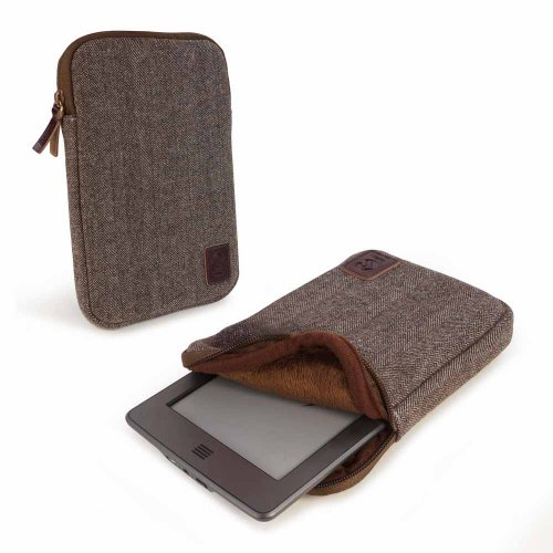 tuff-luv-herringbone-tweed-sleeve-case-cover-for-6-devices-including-kobo-glo-touch-kindle-paperwhit