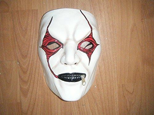 Regno Unito-Jim Root Bianco-Slipknot rigida in plastica termica Maschera
