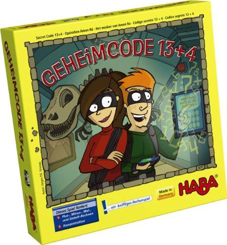 HABA 4959 - Geheimcode 13 + 4, Kinderspiel