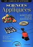 Sciences Appliquées - Cap - Eleve - Maj 2011...