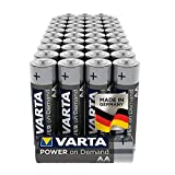 VARTA Power on Demand AA Mignon Batterien (40er...