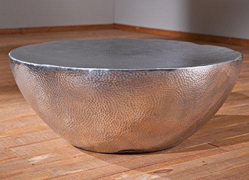Couchtisch bowl von bolia for Salontisch metall