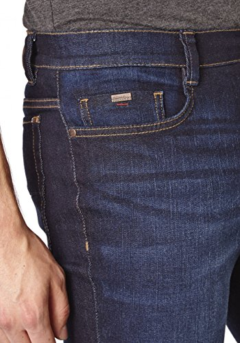 Paddock`s Herren Jeans Ranger - Slim Fit - Blau - Blue Rinse with Slightly Moust Blue Rinse with Slightly Moust (0844)