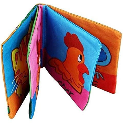Malloom® Panno Morbido Sviluppo Libro Bambino Imparare