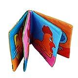 Malloom® Panno Morbido Sviluppo Libro Bambino Imparare Intelligenza Immagine Cognize Libro (B)