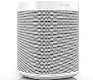 Sonos One (Gen 2) - Voice Controlled Smart Speaker with voice Built-in - White, ONEG2UK1