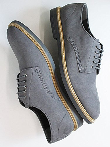 Will's Vegan Shoes Signature derbys grey-UK 13/EU 47/US 14
