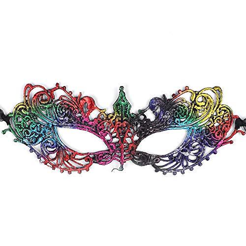 Am Besten Zwei Gesicht Kostüm - Esunlink Frauen-Partei-Maskerade-Maske Sexy Lace Festival Mask