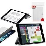Orzly® - Apple iPad MINI SlimRim Tablet Case CUSTODIA con SUPPORTO integrato in BIANCO ( Alias: Orzly SlimRim Smart Stand Case ) - ULTRA SLIM PropUp Stand Case COPERTURA con SONNO-SENSORI INTEGRATI e coperchio magnetico. Adatto Apple iPad Mini ( TUTTI I MODELLI incluso: 2012 Originale versione + 2013 versioni con Retina Display & WiFi )