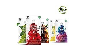 Tea Break Box - 5 x 10 BIO Teekapseln von My-TeaCup | Kompatibel mit Nespresso®*-Maschinen | 100% kompostierbare Kapseln ohne Alu | 50 Kapseln 5 Sorten