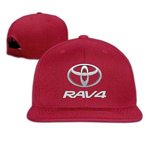 t-ukco-toyota-rav4-unisex-fashion-adjustable-baseball-cap-hat-red
