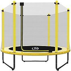 LANGXUN 5FT (152,4cm Trampoline intérieur/extérieur | pour Enfants/Enfants Cadeaux d'anniversaire de Bons Outils d'exercice (Trampoline)