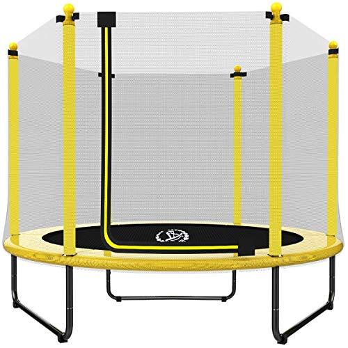 Langxun 5FT (150cm) Trampolín Interior / Exterior | para niños  Niños Los Mejores Regalos de cumpleaños Buenas Herramientas de Ejercicio