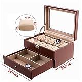Songmics-Caja-para-10-Relojes-Joyera-Soporte-de-Exhibicin-de-Relojes-caja-Vitrina-JWB007